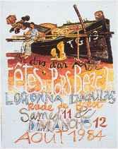 Affiche Pors Beac'h 1984