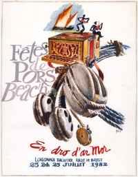 Affiche Pors Beac'h 1982