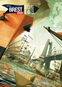 Affiche Brest 2020 de Gildas Java